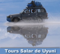 Tours Salar de Uyuni - Salar Amazon